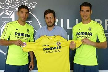 Villarreal oficializa Andrés Fernández e José Ángel