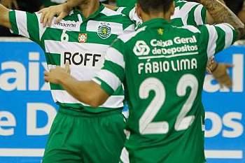 Sporting inicia campeonato com uma goleada.