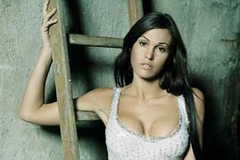 Federica Ridolfi, a bela mulher de Giannichedda