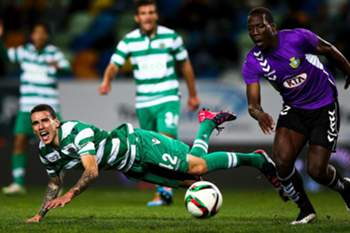 Médio do Sporting.