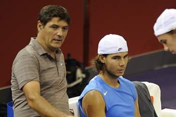 Toni Nadal é tio e treinador do tenista espanhol Rafael Nadal