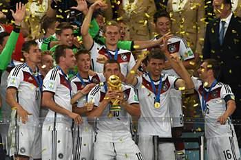 Alemanha festeja título mundial
