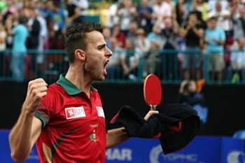 Tiago Apolónia, campeão europeu em ténis de mesa