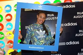 A conhecida atleta Naide Gomes