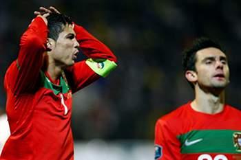 Cristiano Ronaldo e Hélder Postiga