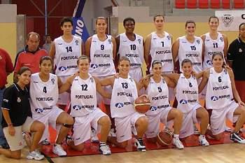 Seleção portuguesa de basquetebol feminino
