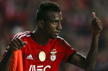 SL Benfica's player Talisca reacts during their Portuguese First League soccer match against Gil Vicente held at Luz Stadium in Lisbon, Portugal, 21 December 2014. MARIO CRUZ/LUSA