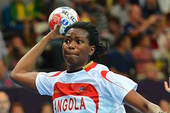 Angola: andebol feminino