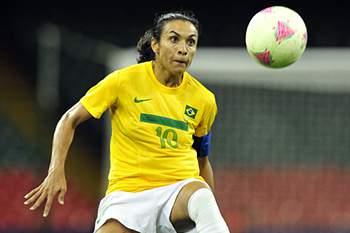 Jogadora da Seleção feminina do Brasil