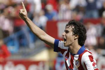 tiago marca atletico madrid festa futebol