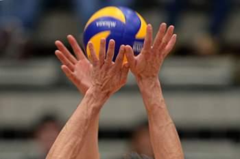 Jogo de voleibol