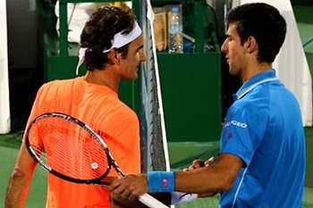 Final entre os melhores tenistas da atualidade.