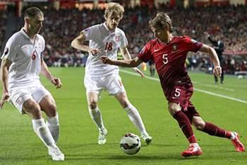 Coentrão em jogo frente a Sérvia