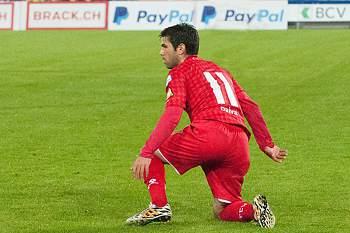 Avançado já marcou 10 golos no campeonato suíço.