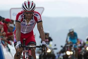 Ciclista espanhol volta a vencer etapa.
