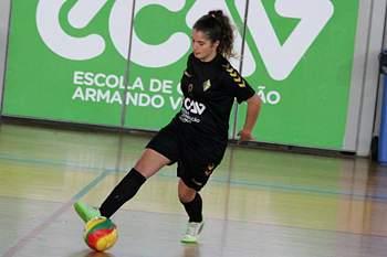 Jogador de futsal Quinta dos Lombos.