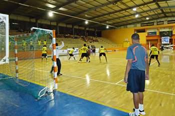 Jogo do campeonato de Cabo Verde