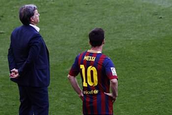 Martino e Messi