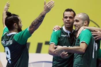 Jogo decide que segue para a final-four da UEFA Futsal Cup.