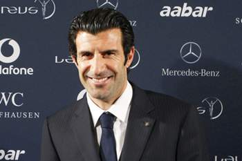 epa04590768 (FILE) A file picture dated 11 January 2011 of former Portuguese soccer player Luis Figo during a press conference on the occasion of the 2010 Laureus World Sports Awards in Madrid, Spain. Former Portuguese international Luis Figo on 28 January 2015 announced that he will run for the FIFA presidency against Joseph Blatter. EPA/BALLESTEROS