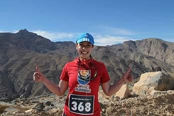 Maria Conceição bate recorde para sete maratonas em sete continentes.