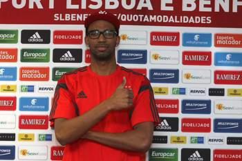 Apresentação de Fábio Lima no Benfica