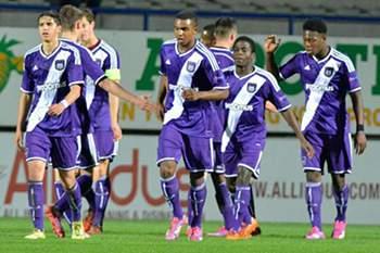 """Anderlecht marca encontro com FC Porto nos """"quartos"""" da Youth League"""
