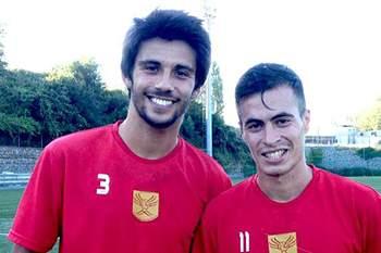 Mário Pereira e Fabinho são dois dos reforços desta época do Salgueiros.