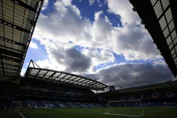 Estádio de Stamford Bridge em Londres é a casa do Chelsea.
