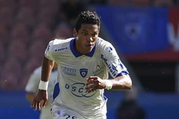 O jogador foi punido pelo Bastia