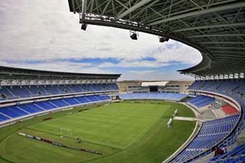 Estádio Ombaka, em Benguela