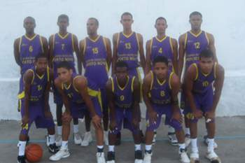 Equipa do Porto Novo Basket
