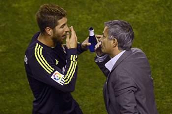 Os dois estiveram juntos no Real Madrid durante duas épocas