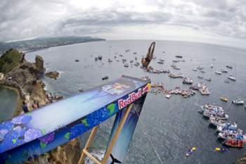 Red Bull Cliff Diving nos Açores