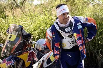 Ruben Faria abandona Dakar2016
