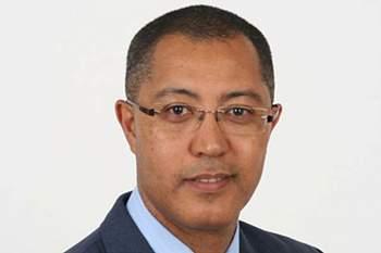 Victor Osório, presidente da Federação Cabo-verdiana de Futebol