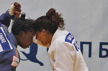 Judoca portuguesa.
