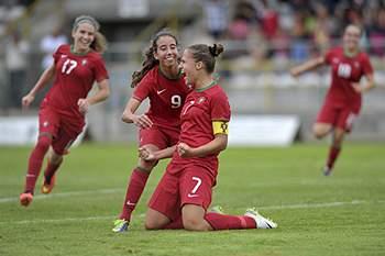 Seleção portuguesa de futebol feminino sub-19 venceu a Áustria.