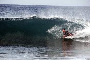 Open Sandy em São Vicente, Cabo Verde
