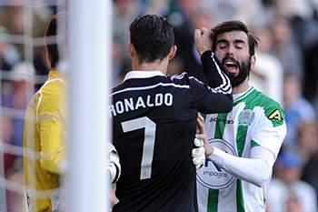 Ronaldo foi expulso
