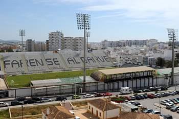 Estádio São Luís, em Faro