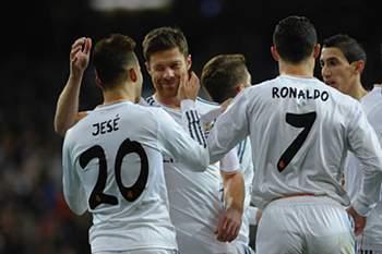 Imagem do jogador quando representava o Real Madrid