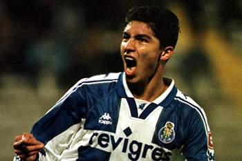 Mário Jardel com a camisola do FC Porto