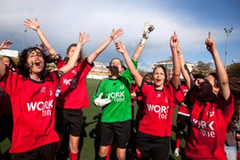 Futebol feminino - Ouriense