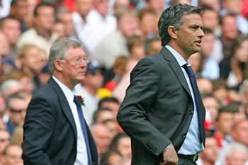 Alex Ferguson e José Mourinho