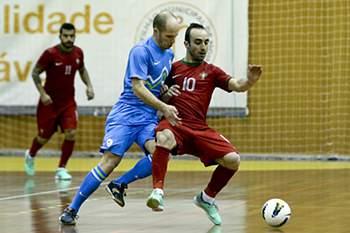 Ricardinho: Futsal: Portugal vs Eslovénia