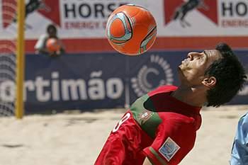 Bruno Novo, jogador de futebol de praia