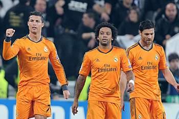 Ronaldo, Marcelo e Alonso no Real Madrid