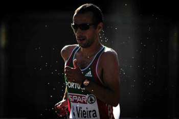 O português João Vieira classificou-se este domingo em quarto lugar nos 20 km marcha dos Mundiais de atletismo de Moscovo, com a marca de 1:22.05 horas.