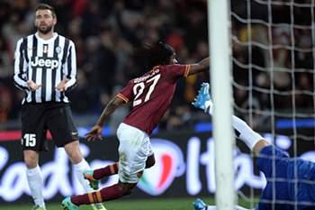 Avançado da AS Roma.